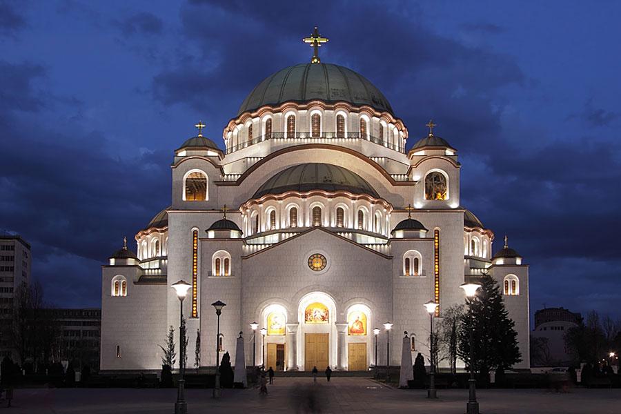 Belgrad, St. Sava Kirche