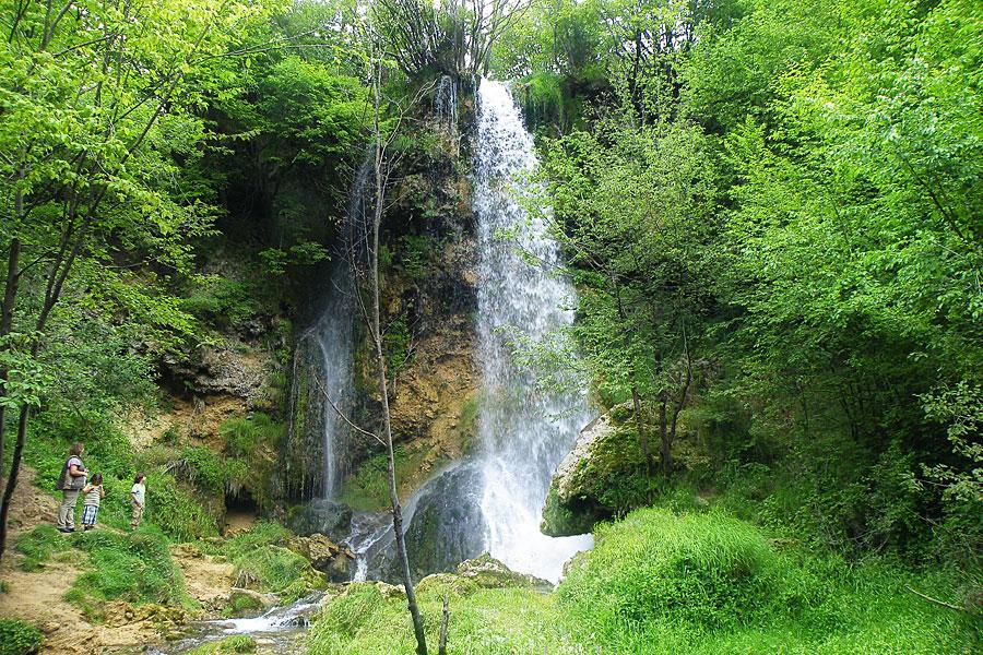 Wasserfall Gostilje
