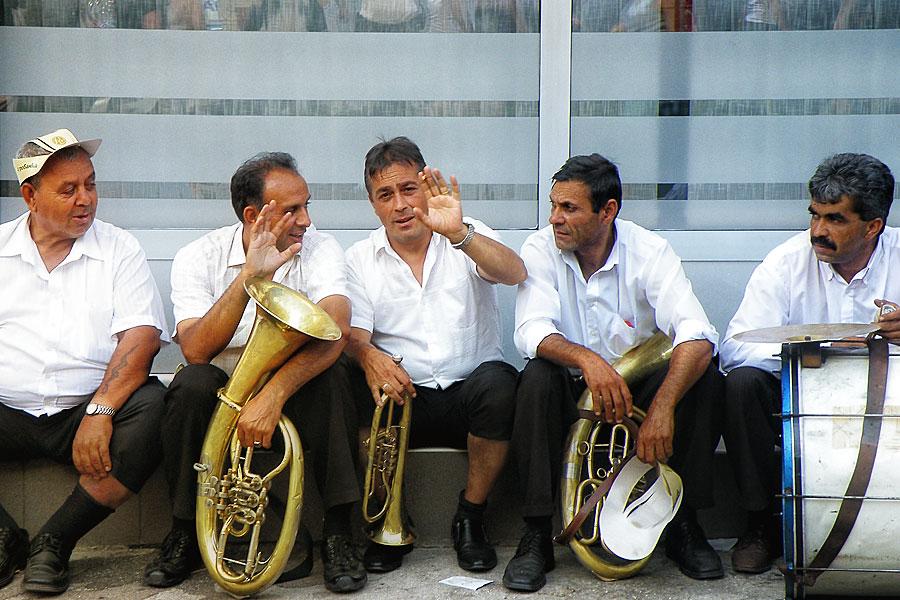 """Die """"goldene Trompete"""" von Guca"""