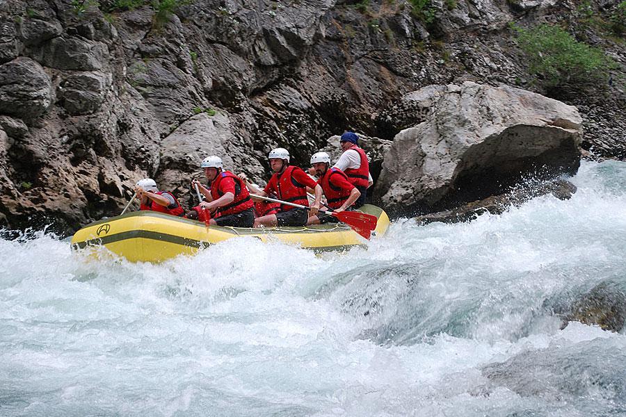 Abenteuerreise mit Rafting