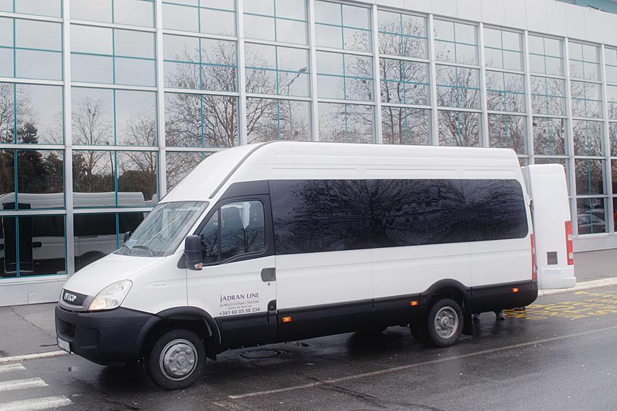 Bus Transfer Serbien